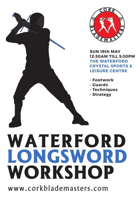 Waterford Longsword Workshop 2019 | Cork Blademasters