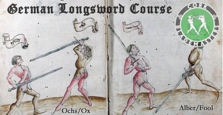 German Longsword Course Limerick 1/10 – Tue 29/09/2020