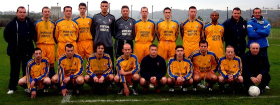 The CBSL side that went down at Casement Park. Oscar Traynor Trophy, group game, AUL 3 CBSL 1, Casement Park, 21.11.04. Billy Lyons