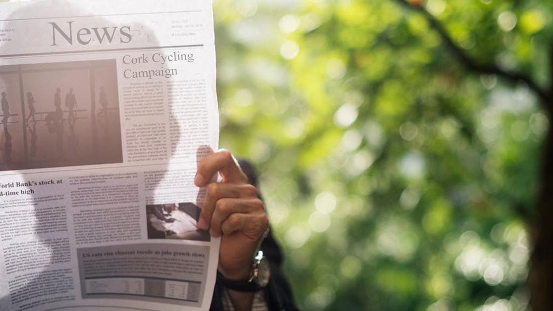 news social media Cork Cycling campaign