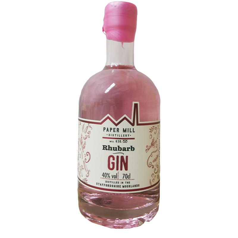 Paper Mill Rhubarb Gin