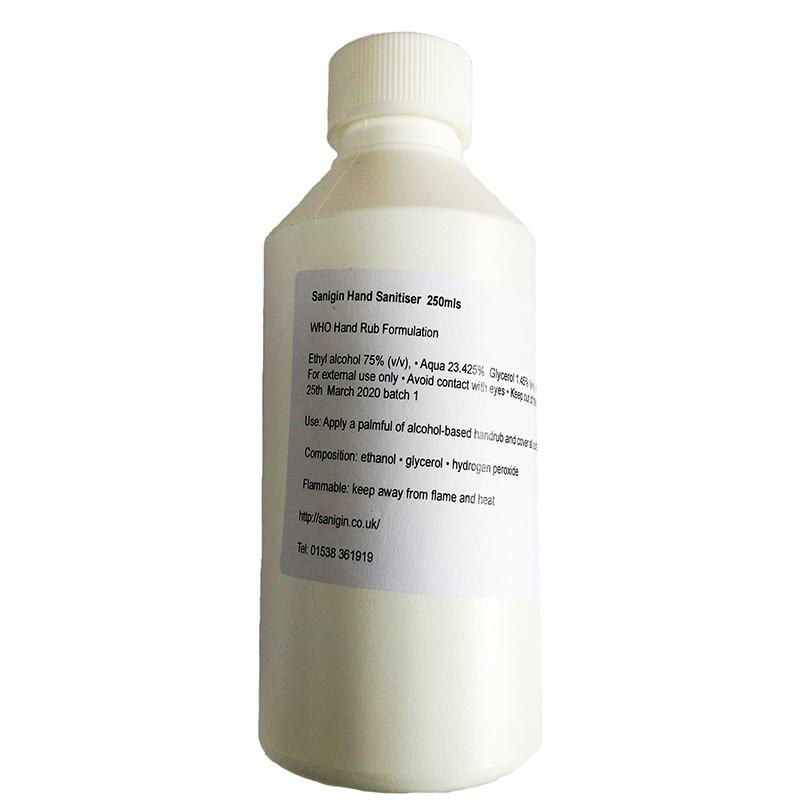Sanigin Hand Sanitiser Liquid