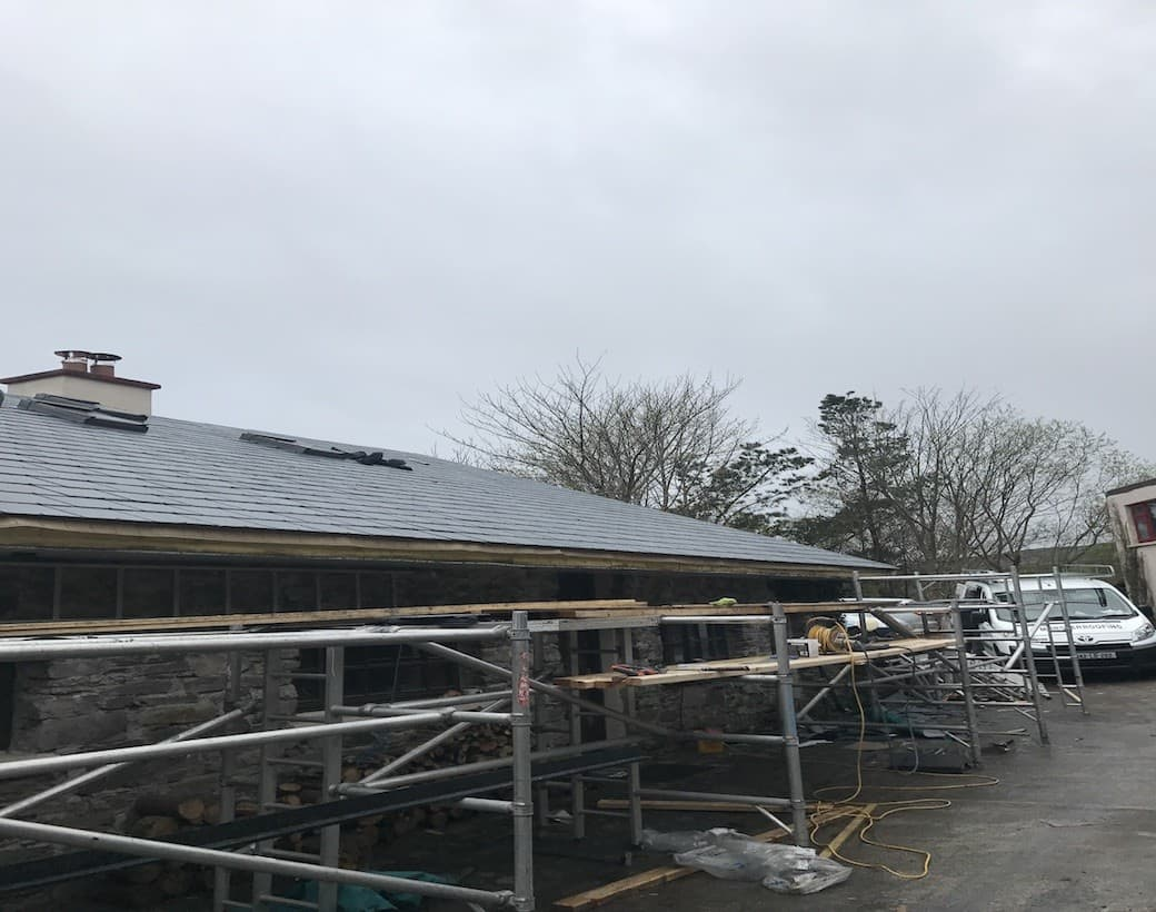 New Slate Roof Cork