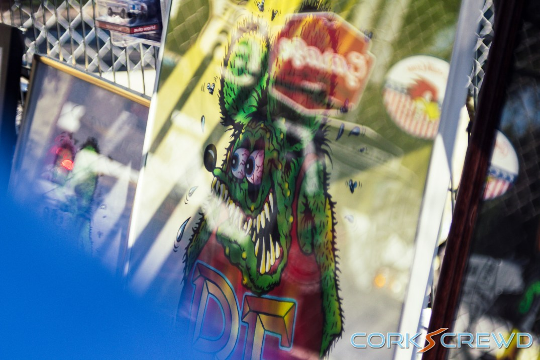 Photo of a Rat Fink Poster