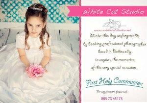 White Cat Studio Flyer