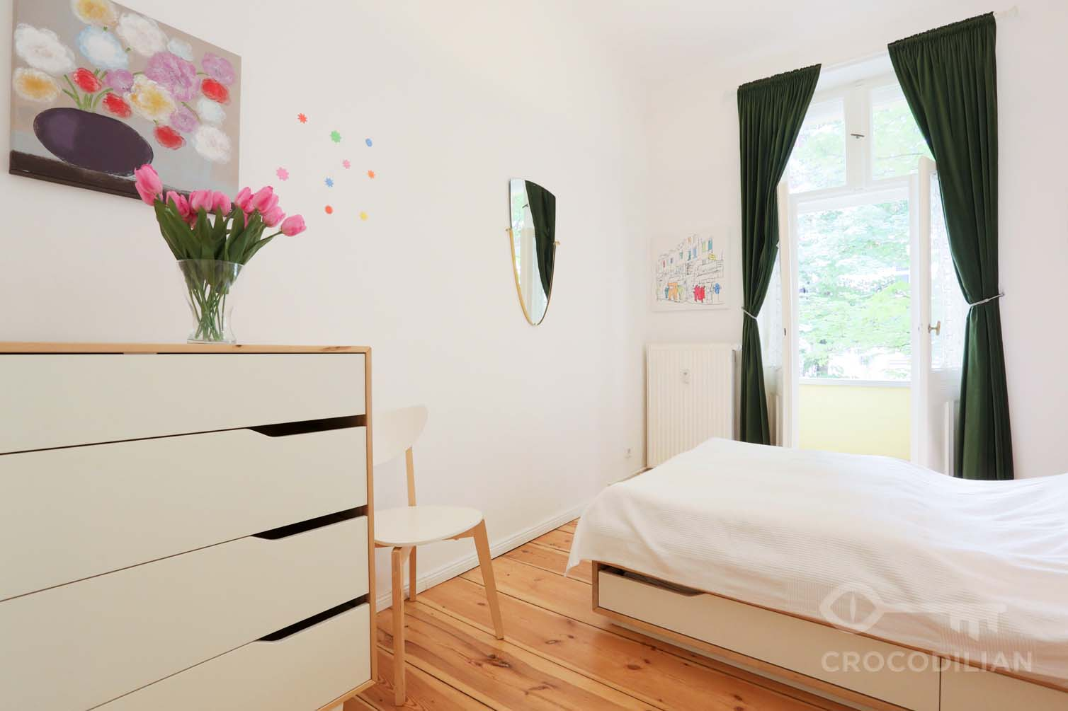 Das Beste 2 Room Apartment With Balcony Classic Old Berlin Style In Diesem Monat