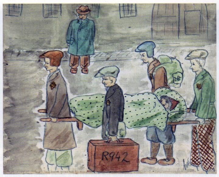 Helga Weiss rajza