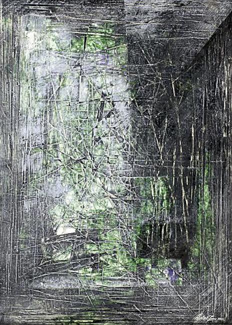 Posztgraduális, 2002. akril, rétegelt papír, 42x30 cm