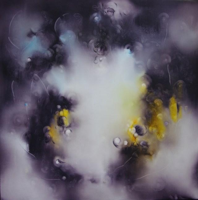 Balogh Ádám: Éteri mágia / 80x80 cm, olaj, vászon, 2015/