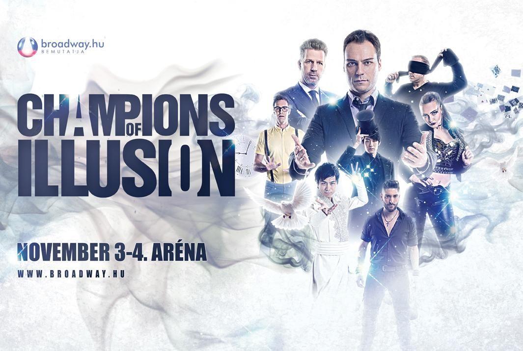 idézetek a lehetetlenről Champions of Illusion   Az illúzió bajnokai az Arénában!   Corn & Soda
