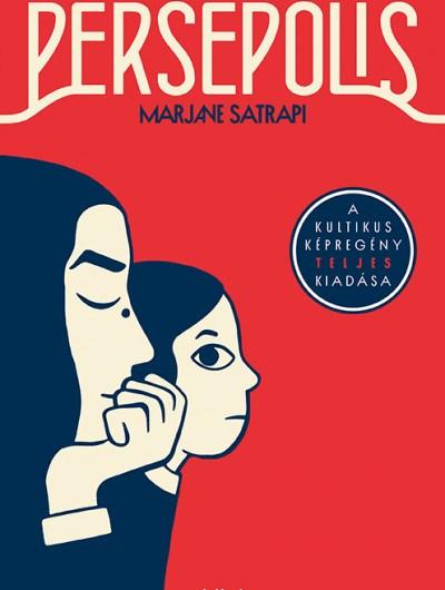 Marjane Satrapi: Persepolis. Forrás: Libri Könyvkiadó.