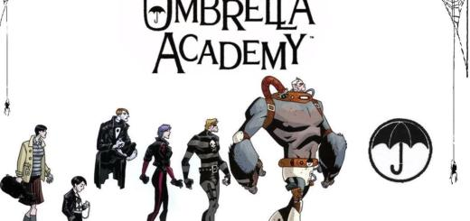 Umbrella Academy. Forrás: Dark Horse Comics.