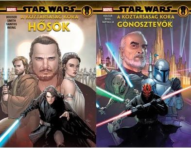 Star Wars: Köztársaság Kora – Hősök és Gonosztevők. Forrás: Szukits Könyvkiadó.
