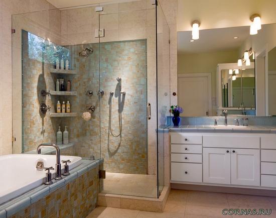 Súper elegantes bañeras pequeñas con ducha. Diseño de un ...