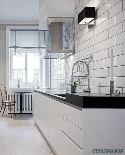 Дизайн узкой кухни. Дизайн узкой кухни — советы и примеры