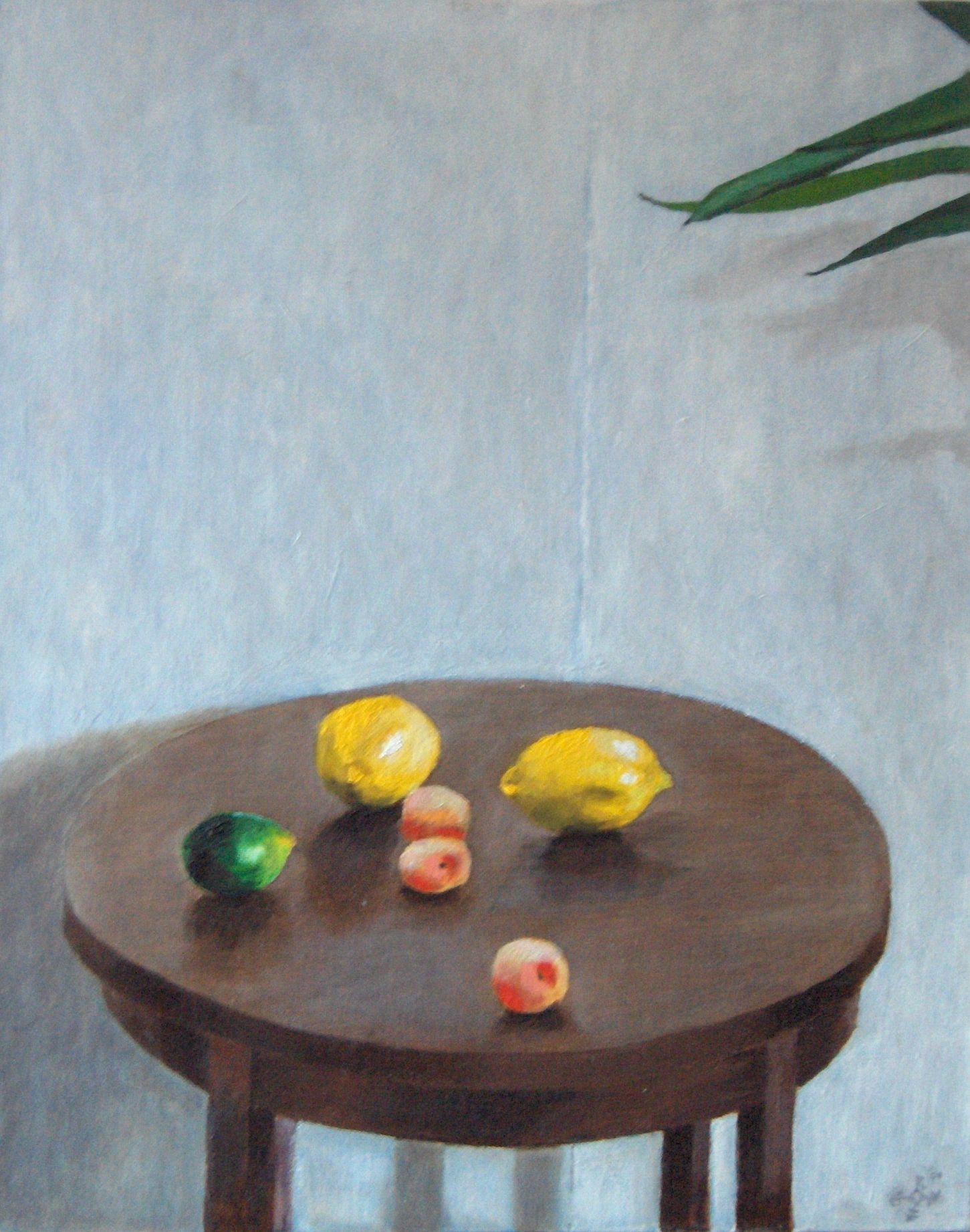 realistic still life oil painting