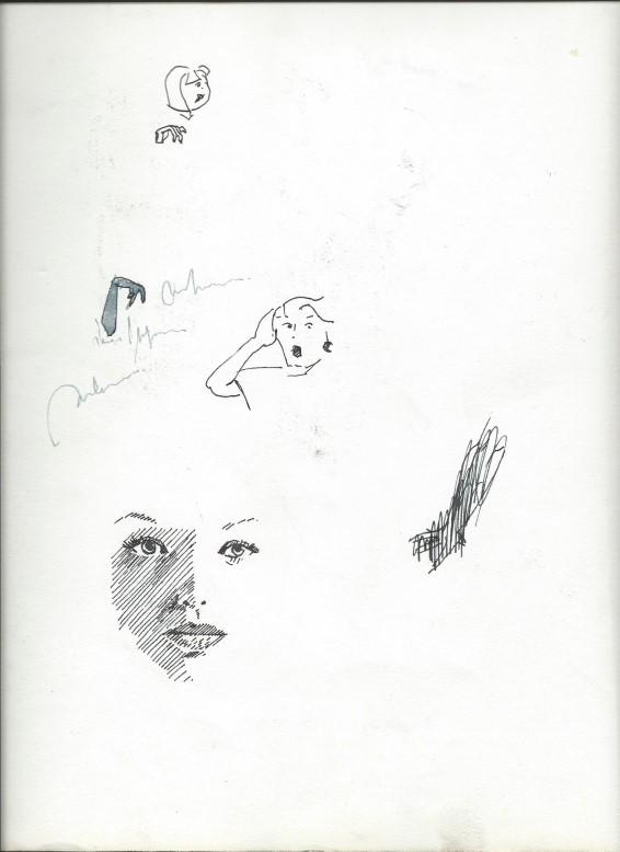 Realistic pen sketches