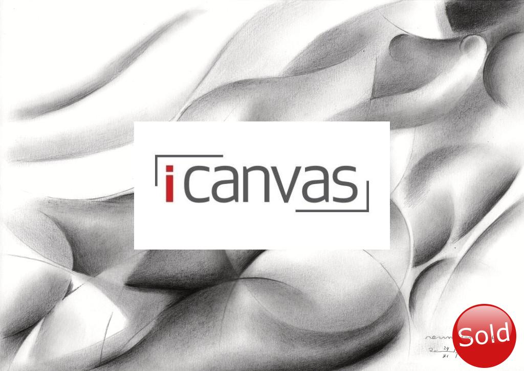 cubistic nude graphite pencil drawinga advertisement