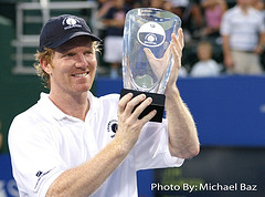 jim courier wins champions cuphouston