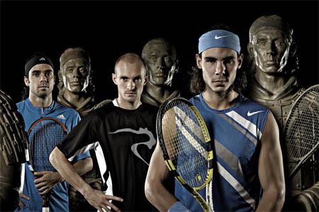 Gonzalez, Davydenko, Nadal
