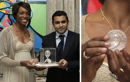 Venus Williams - Wimbledon jewellery