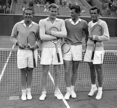 Lennart Bergelin - Roland Garros 1948