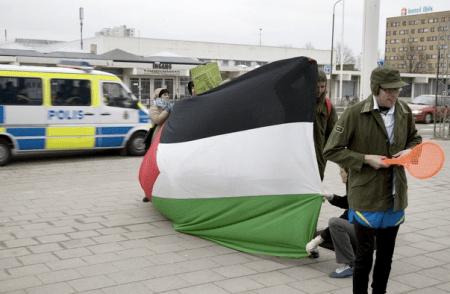 palestinianflag-israelsweden-daviscup09
