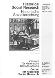 HSR Supplement No. 15 2003