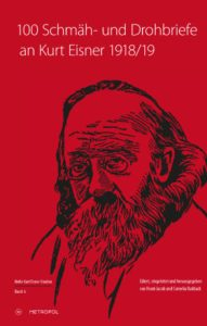 Schmähbriefe an Kurt Eisner – Cover Metropol-Verlag