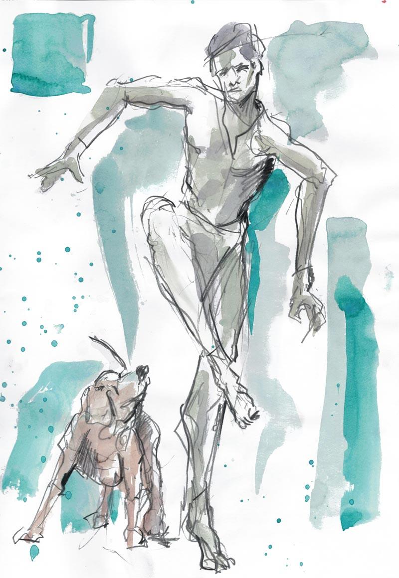Tanz mit dem Hund