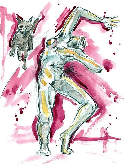 estatic dance