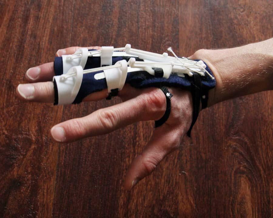 Cornelius Quiring hand project