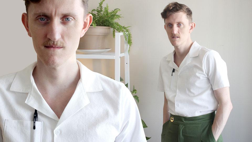 How to Sew a Cuban Collar Vacation Shirt