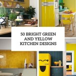 Bright Green And Yellow Kitchen Designs