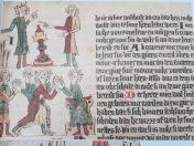 Uit kronieken middeleeuwen