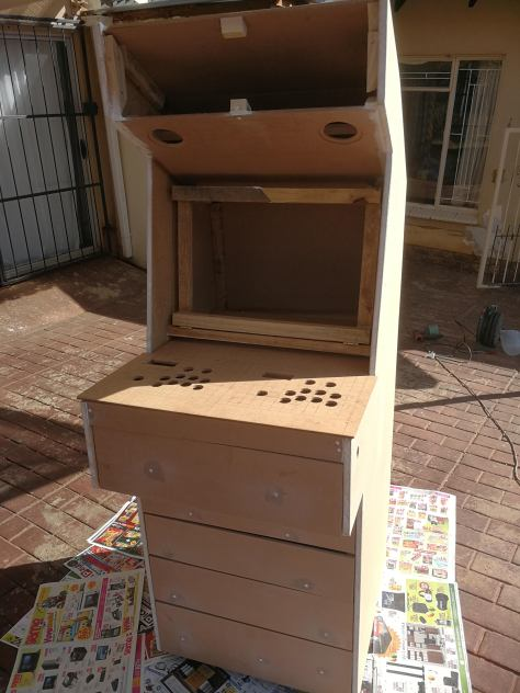 Arcade Game Box - Not painted (Front)