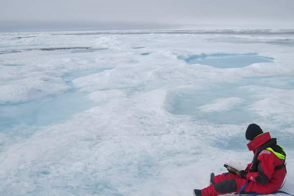 S/V AVENTURA IV Learns firsthand about the Arctic - ICEBOUND FROM BEING SO EARLY... Greenland was so wonderful!