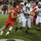 Hui Tong / sun Contributor Last week, a group of running backs was able to pick up the slack as senior running back Luke Hagy remained sidelined with an injury.