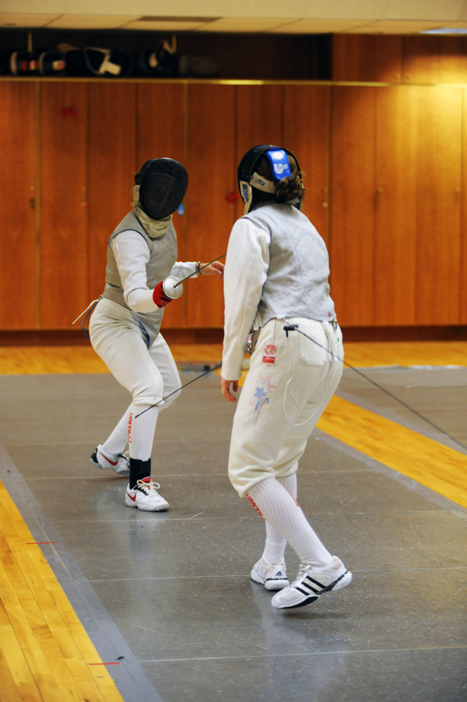 Oliver Kliewe / Sun File Photo The Cornell fencing team had a strong starts to their season this weekend at the Temple Open.