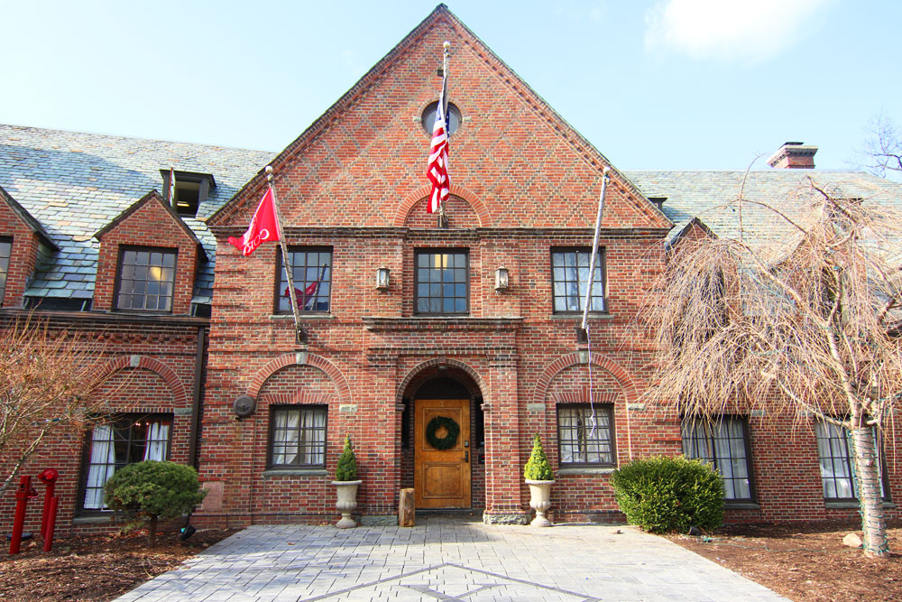 The former Psi Upsilon fraternity house, located at 2 Forest Park Ln. on West Campus.