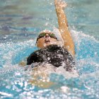 The women's swimming team moved past Dartmouth on the last day of Ivies to take seventh.