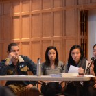 Students discuss an initiative to add an Asian American Studies major.