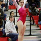 For the second time in program history, the gymnastics team won the ECAC Championship