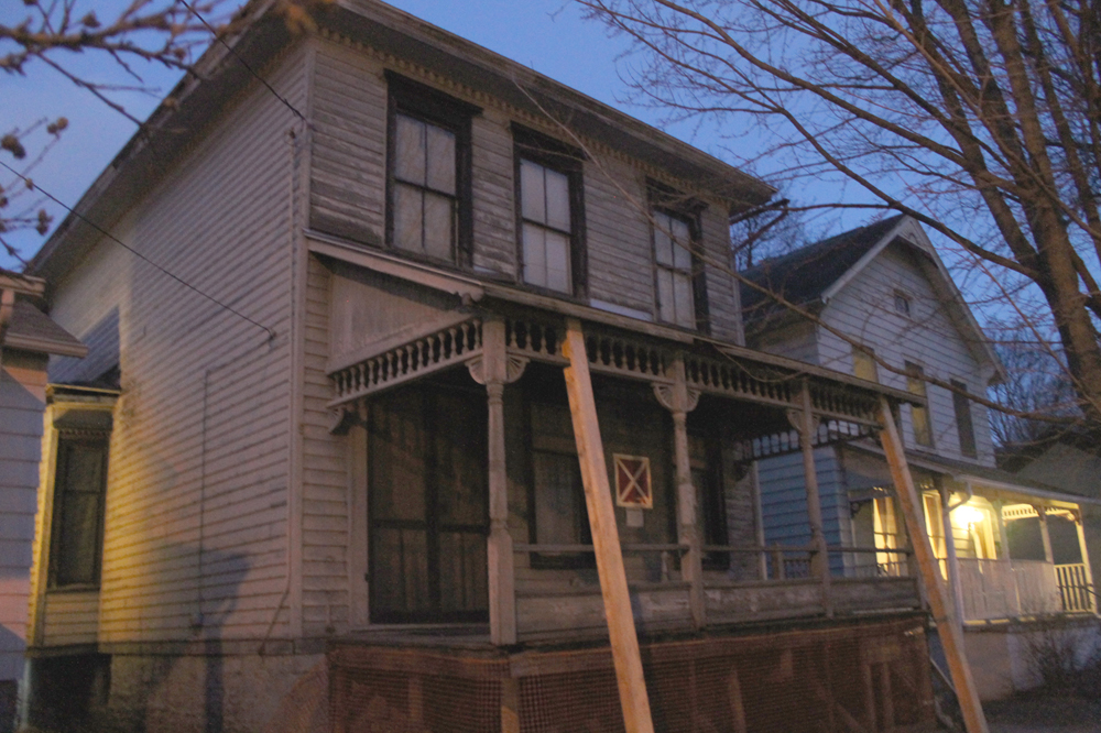 Located at 21 North Albany Street, the Dennis-Newton House was the home of the nation's first African-American fraternity.