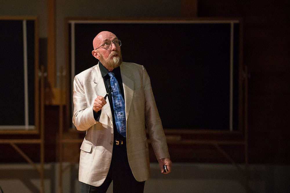 Kip Thorne speaks about black holes, gravitational waves and 'Interstellar' Wednesday in Rockefeller Hall.