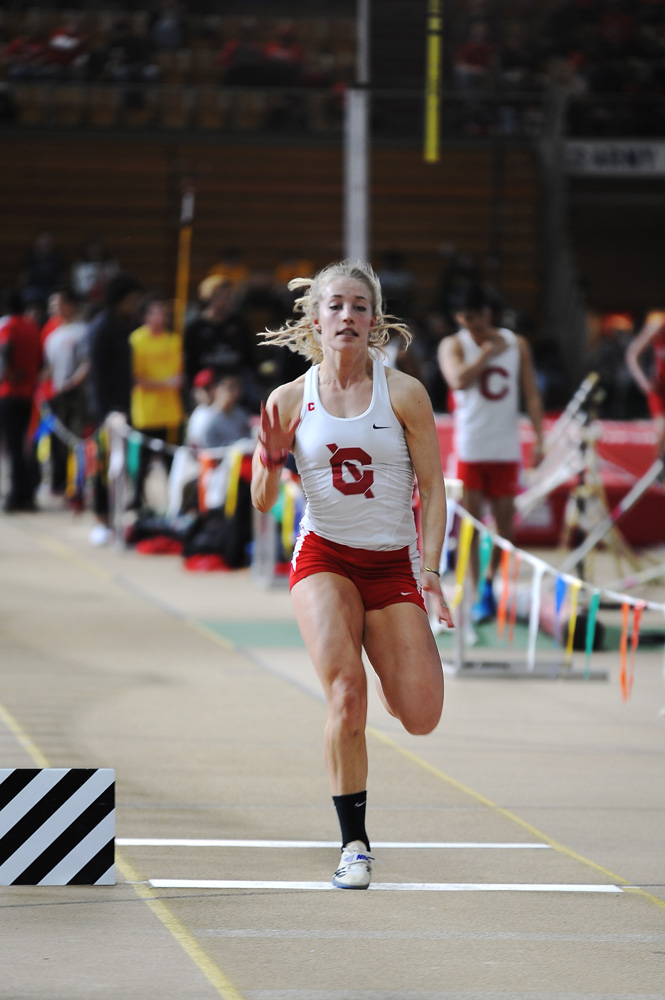 At the Upstate Challenge in Ithaca, Cornell secured wins in 10 events along with three ECAC qualifiers.