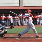 Sophomore outfielder Dale Wickham hit three home runs in the Red's 4-3 victory over Princeton Saturday.