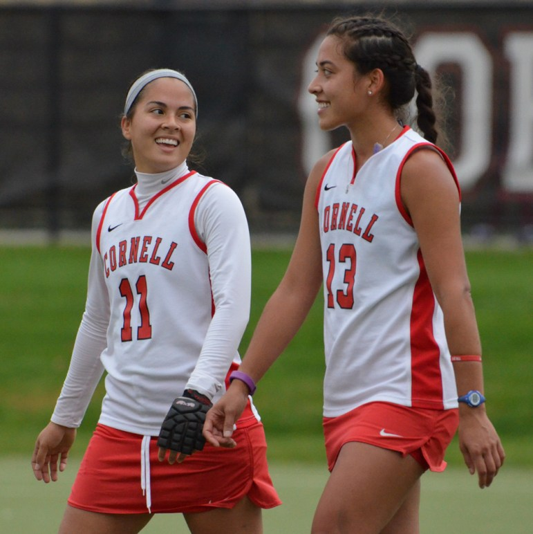 Siergiej was fortunate to play alongside her sister Isabel while playing for the Red.