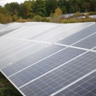 The Snyder Road Solar Farm, Cornell's first large-scale solar initiative, is one step the University has taken toward a low carbon future.