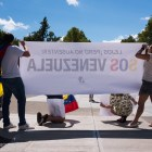 Members of the Venezuelan Student Association said millions of Venezuelans are in need of necessities like corn flour, milk and diapers.
